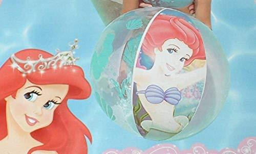 Bavaria Home Style Collection Arielle die Meerjungfrau Fabius der Doktorfisch und Sebastian die Krabbe Princess Wasserball Strandball ca. 51 cm Princess Wasser Ball Badespass der Spass im Wasser