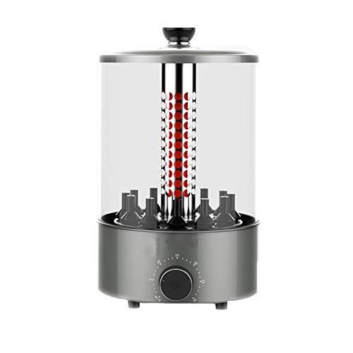 Horno eléctrico Vertical eléctrico Multifuncional con función de temporización, Que Puede rotar automáticamente y Calentar uniformemente, Piezas extraíbles, fácil de Limpiar