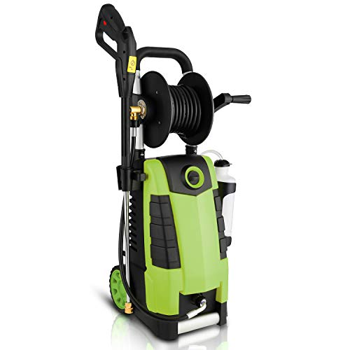 Highsell 3800PSI Electric Pressure Washer, MAX 2.8GPM Electric Power Washer 1800W High Pressure...