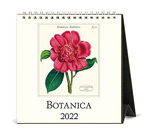 Cavallini 2022 - Calendario de escritorio, diseño de botánica vintage (CAL22-10)