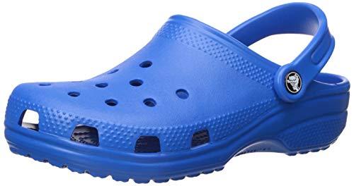 Crocs Classic, Zuecos Unisex Adulto, Bright Cobalt, 43/44 EU