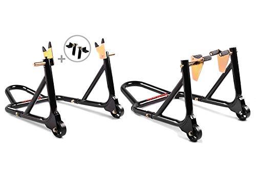 Motorrad Montageständer Set für Yamaha MT-07 / Tracer 700 schwarz ST4