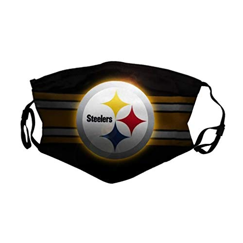 Adult 3D NF-L Pittsburgh_Steelers Face_Mask Outdoor_Cover Reusable Balaclava