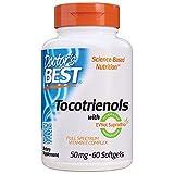 Doctor's Best Tocotrienols contains EVNol SupraBio Full Spectrum Vitamin E Complex, 60 Count