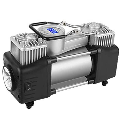 YYQXR Inflador de neumáticos del compresor de Aire, Mini Bomba de Aire portátil del neumático del Coche de 276W 100PSI, con Control de presión/luz LED/Juego de Caja de Herramientas (Figura 6)