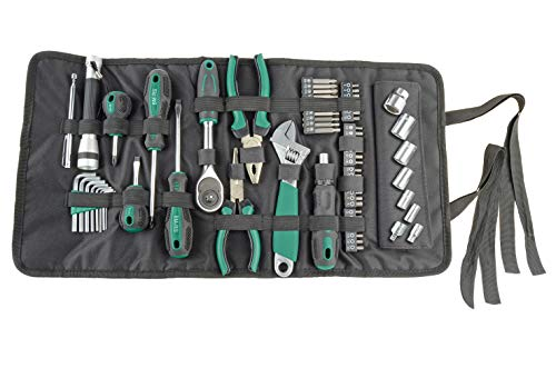 Brüder Mannesmann Werkzeuge M21170 Werkzeug-Rolltasche
