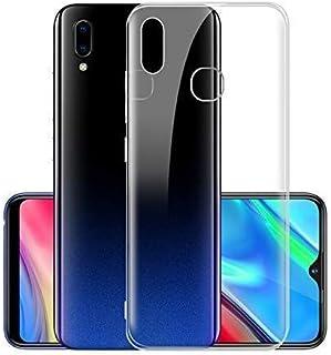 جراب M20 ناعم من السيليكون الشفاف الشفاف الشفاف لهاتف Samsung Galaxy M20