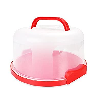 Cake Carrier by Sweet Course Official 12  Large Round Container