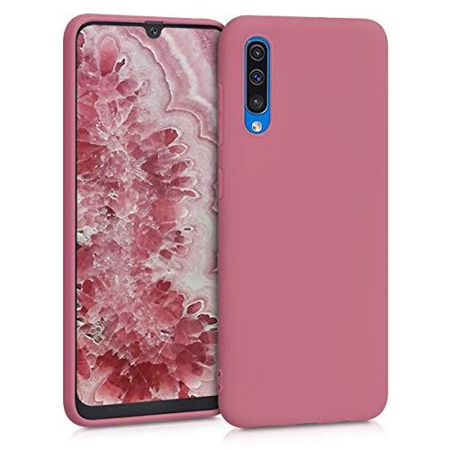 kwmobile Hülle kompatibel mit Samsung Galaxy A50 - Hülle Handyhülle - Handy Hülle in Deep Rusty Rose