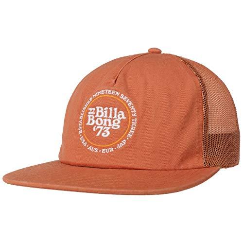 BILLABONG Gorra Trucker Stacked Snapback Cap Plana (Talla única - Naranja)