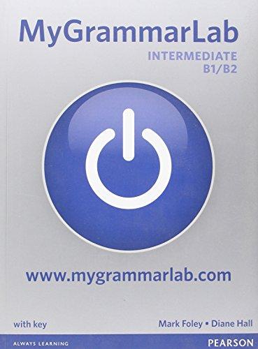 MyGrammarLab Intermediate B1/B2 with Key (MyLab Pack)