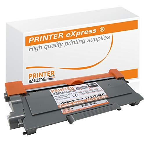 Printer-Express XXL Toner 5.400 Seiten kompatibel mit Brother TN-2220 TN2220 TN-2010 TN2010 für DCP-7055 DCP-7057 DCP-7060 DCP-7070 HL-2130 HL-2132 HL-2135 HL-2240 HL-2250 HL-2270 MFC-7360 MFC-7460 MFC-7860