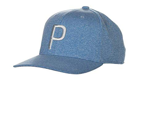 Puma Golf Male 2018 'P' Snapback Hat (One Size) 2018 'P' Snapback Hat (Men's, One Size), Azure Blue