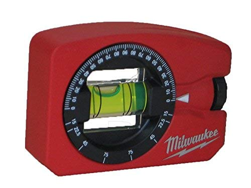 Milwaukee 0 4932459597 Wasserwaage Pocket 360° magnetisch, Red