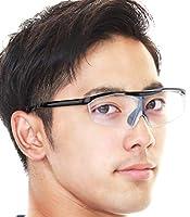 gungnir 拡大鏡 メガネ 跳ね上げ式 1.6倍 ブルーライトカット 40%以上※試験結果は画像5枚目 ルーペ メガネ 軽量 【跳ね上げ部強化版】 メガネの上から かけられます 紫外線カット (UV400)