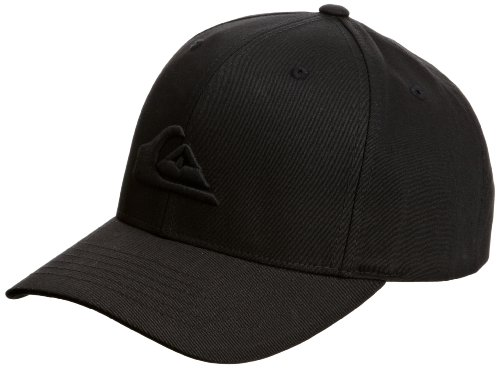 Quiksilver Herren Cap Firsty Roundtails X6, black, One Size, KPMCP031-BLK-TU
