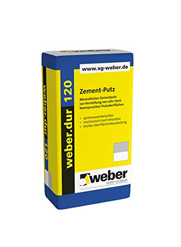 Weber.dur 120 Zement-Putz