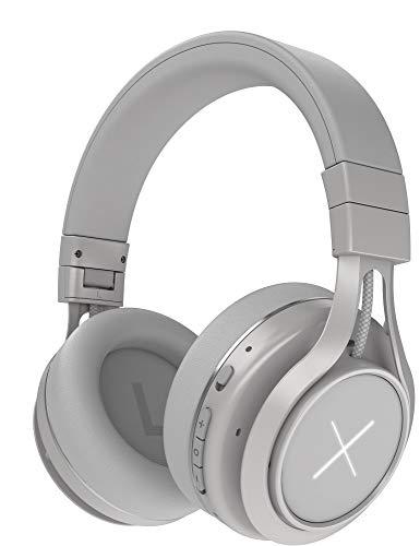 Kygo Xenon Over-Ear Bluetooth Headset con ANC (Bluetooth 5.0, reducción activa de ruido, reproducción de hasta 24 horas, micrófono, comando de voz, sonido AAC y aptX) Stellar