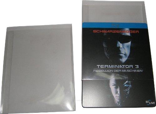 Blu-Ray Steelbook Klarsichtschuber Protected (10 Stück)