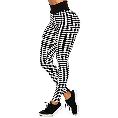 PorLous Leggings Womens High Waist Casual Printed Quick-Drying Tight Stretch Fitness Yoga Pants Girlfriends Unique Fathers Maybe Wear LOL Bands Sleep Intimacy How Clearance Naughty 30