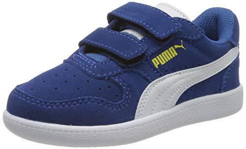 Puma Unisex Baby Icra Trainer Sd V Ps Sneaker, Blau (Bright Cobalt White-Meadowlark), 34 EU