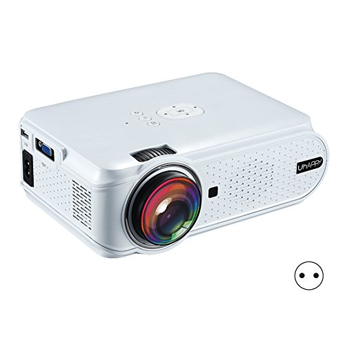 rokoo Mini proiettore LCD Full HD 1080P Home Theater Cinema HDMI VGA USB LED proiettori per Video Media Player