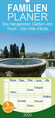 Die hängenden Gärten von Tivoli - Die Villa d'Este - Familienplaner hoch (Wandkalender 2020 , 21 cm x 45 cm, hoch): Der Kalender der Villa d'Este 2014 (Monatskalender, 14 Seiten ) (CALVENDO Orte)