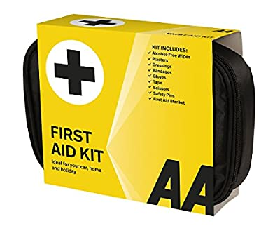AA Soft Pouch First Aid Kit - Black by AA Media Limited