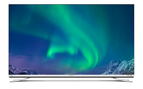 SHARP LC-49XUF8772ES 123 cm (49 Zoll) Fernesher (4K Ultra HD Smart TV, DVB-T/T2/C/S2, H.265 HEVC, Bluetooth), Silber