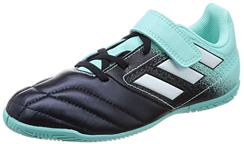 adidas Jungen Ace 17.4 in J H&l Fußballschuhe, Mehrfarbig (Energy Aqua /ftwr White/legend Ink ), 34 EU