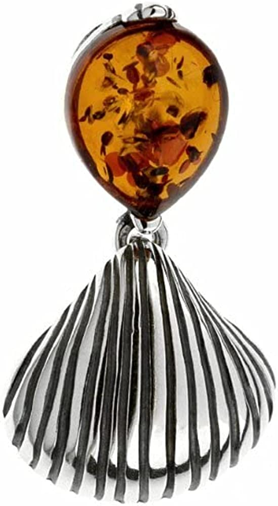 Kordas Co Shell Shape Pendant Direct store with Selling in Color Baltic Cognac Amber