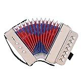 Tasten-Knopf-Akkordeon für Kinder