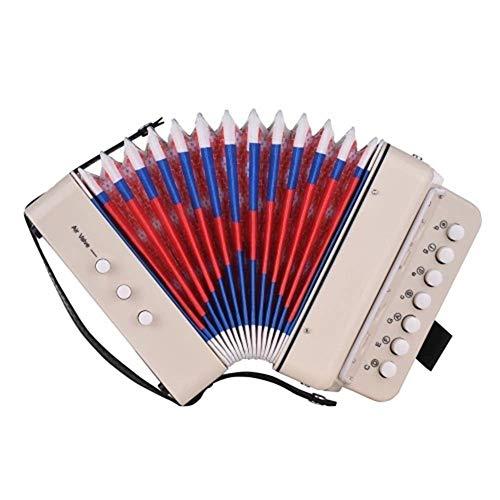 Afindeon para 10 llaves, mini instrumento de música para la educación de la primera infancia, fácil de jugar, ligero y respetuoso con el medio ambiente, instrumento único y conjunto, regalo para niños