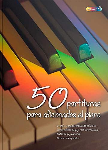 """""""50 Partituras para Aficionados al Piano"""" VOL 4"""