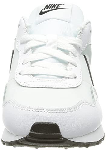 Nike MD Valiant Bg, Zapatillas Deportivas, Blanco y Negro, 39 EU