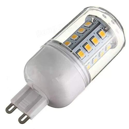 WULE-RYP G9 3.3W 30 SMD 2835 LED Bulb di Mais Bianco Caldo/Bianco 110 (Color : Pure White G9)