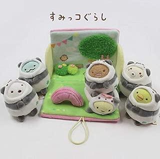 YOYOTOY 6Pcs/Set I Corner Bio Turned to Japanese Anime Plush Toy Stuffed Animals Doll Pendant Girl Gift Toddler Must Haves Friendship Gifts Toddler Favourite 5T Superhero Girls Childhood Dream