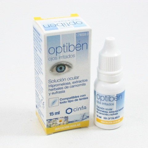 OPTIBEN OJOS IRRITADOS COLIRIO 15 ML