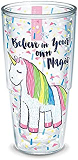 Tervis 1286100 Simply Southern Unicorn Magic 24 oz Tumbler with lid, 24oz, Clear