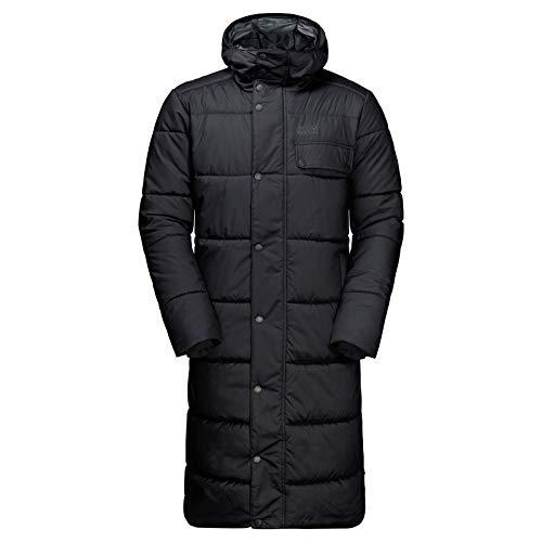 Jack Wolfskin Herren Kyoto Coat Mantel, Black, L