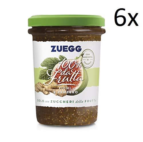 6x Zuegg Feigen und Ingwer Marmelade Konfitüre Brotaufstriche Italien 250g