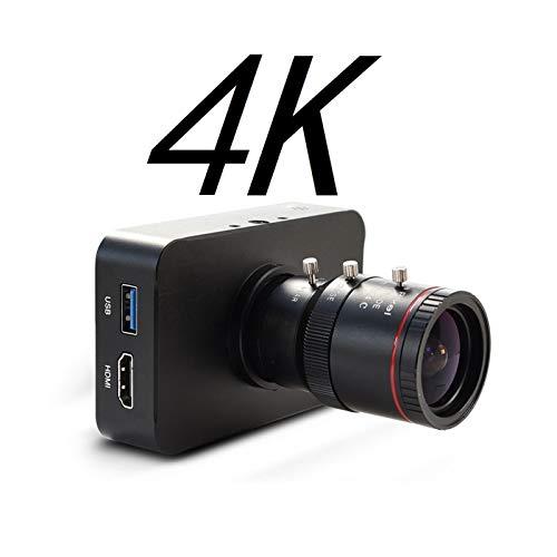 4K 30fps HDMI Kamera 1080P 60fps 1080i Live Webcam USB Kamera Aufnahme 4K 30fps Industrie C/CS-Mount Kamera mit 4-12mm Objektiv Pulley