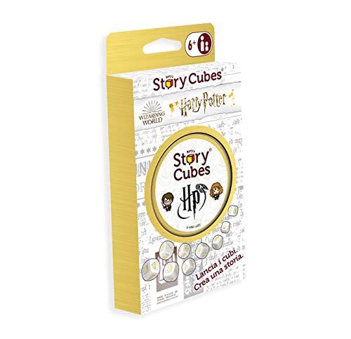 Asmodee - Rory's Story Cubes: Harry Potter, Gioco da Tavolo per lo sviluppo di Fantasia e Immaginazione, Edizione in Italiano, 8089