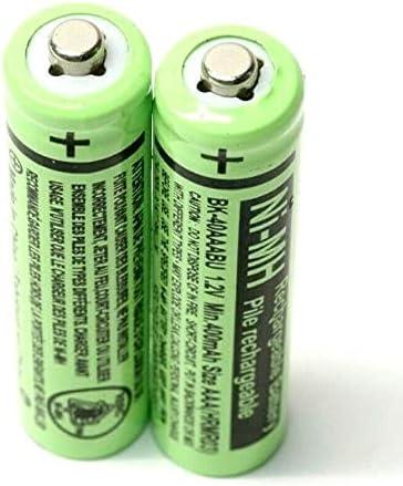 2 RocketBus BK-40AAABU Replacement 1.2V 400mAh Battery Packs for Panasonic Cordless Phone Handset