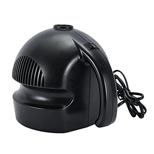 Runtodo Bomba de aire eléctrica, inflar o desinflar bombas de camping para camas de aire, colchón, albercas y juguetes de playa, natación, enchufe británico