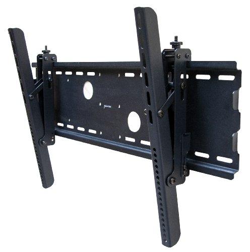 "Black Adjustable Tilt/Tilting Wall Mount Bracket for Panasonic Viera TC-P65S1 65"" Inch LCD HDTV TV Television"