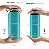 ACTIVE FLASK von BeMaxx Fitness 530ml (Aquatic Cyan) - 4