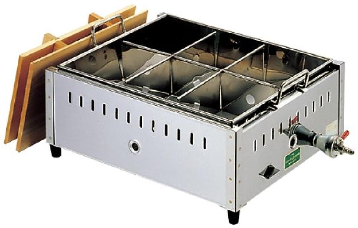 長椅子検出誘うEBM 18-8 関東煮 おでん鍋 尺4(42cm)LP/61-6711-60