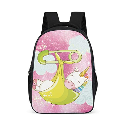 Toomjie Muster Schulrucksäcke Ergonomischer Praktischen Schultasche Backpack Kinder Jugendliche Damen Tagesrucksack für Unterwegs Trekking 32cmx18cmx42cm