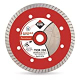 Rubi 31973 Disco Diamante gres porcelánico turbo (TCR) 125 mm SUPERPRO, Gris